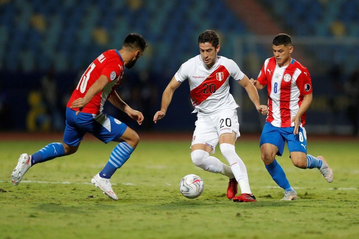 Perú eliminó a Paraguay.