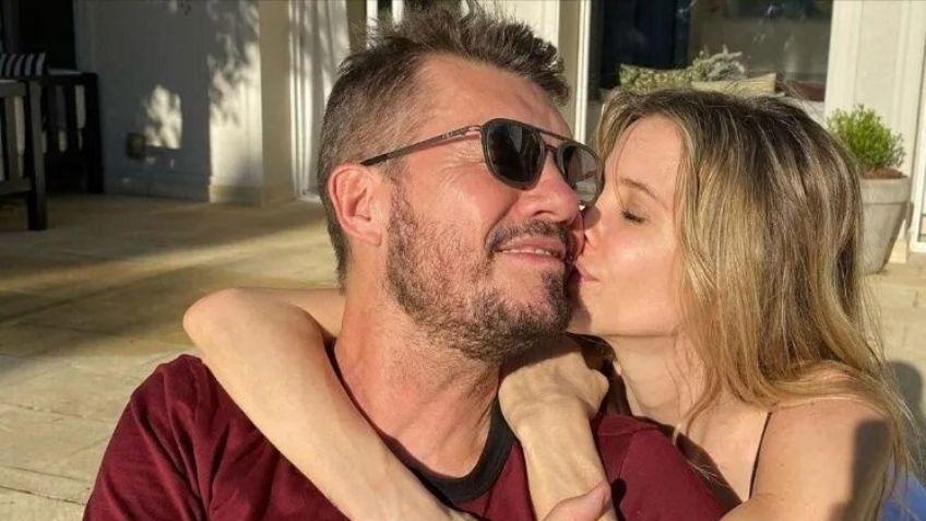 Tinelli compartió un blooper de Guillermina Valdés