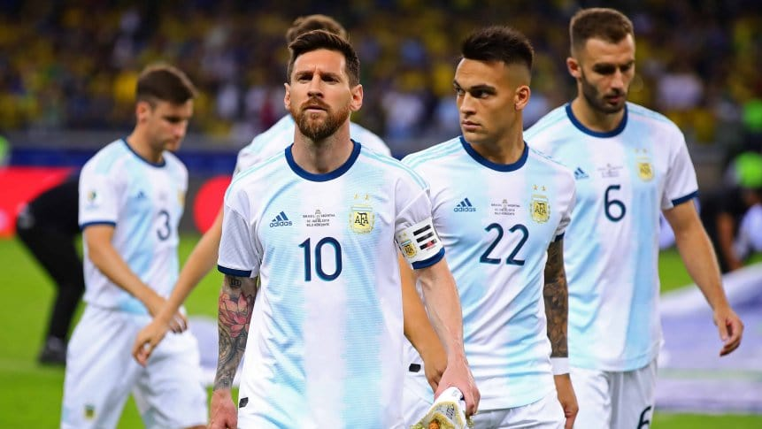 Argentina podrán tener 28 jugadores en la Copa América