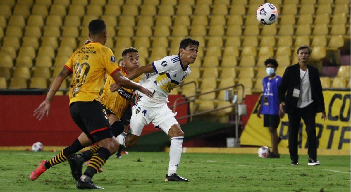 Boca dejó pasar la chance de acercarse a octavos de final de la Copa. Foto: Telam