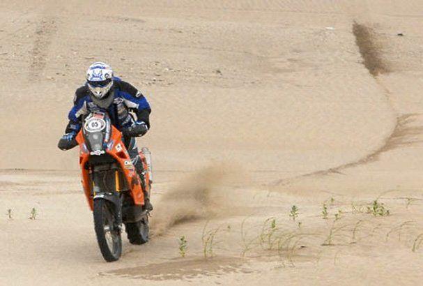 Se accidentó Rodolfo Bollero en el arranque de la tercera etapa del Dakar