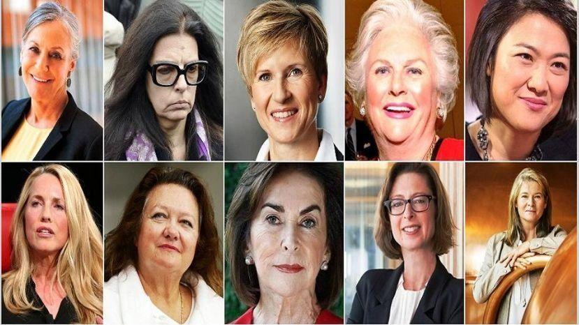 Entre los 100 hombres más ricos sólo hay 10 mujeres
