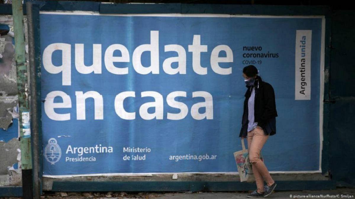 Argentina confirmó 13.835 nuevos casos de Coronavirus