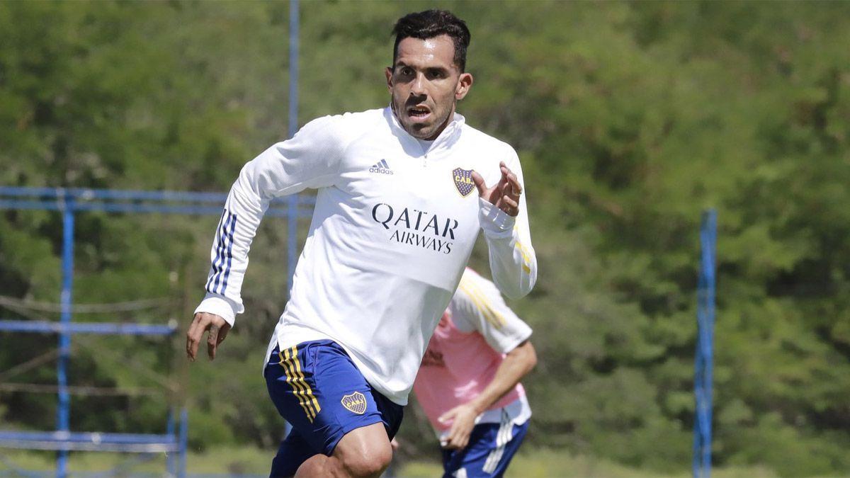 Carlos Tevez no llega con el plantel de Boca a San Juan