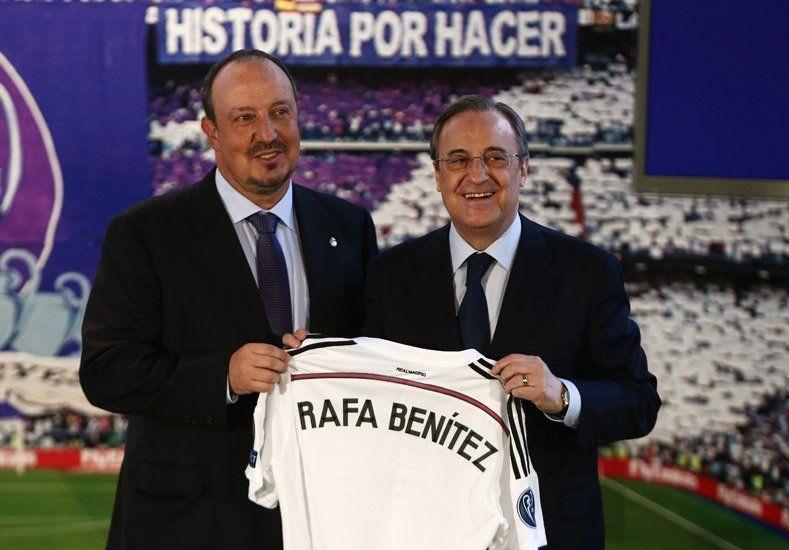 Ilusión Merengue: Real Madrid presentó a Rafa Benítez como nuevo DT