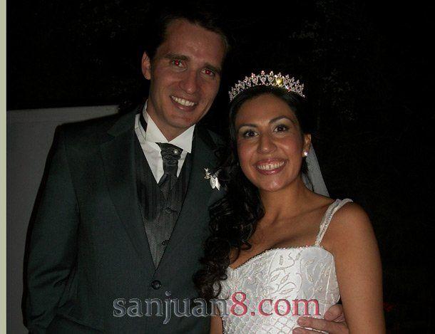 Se casaron María Julieta Vera Janavel y Francisco Daniel Fornés