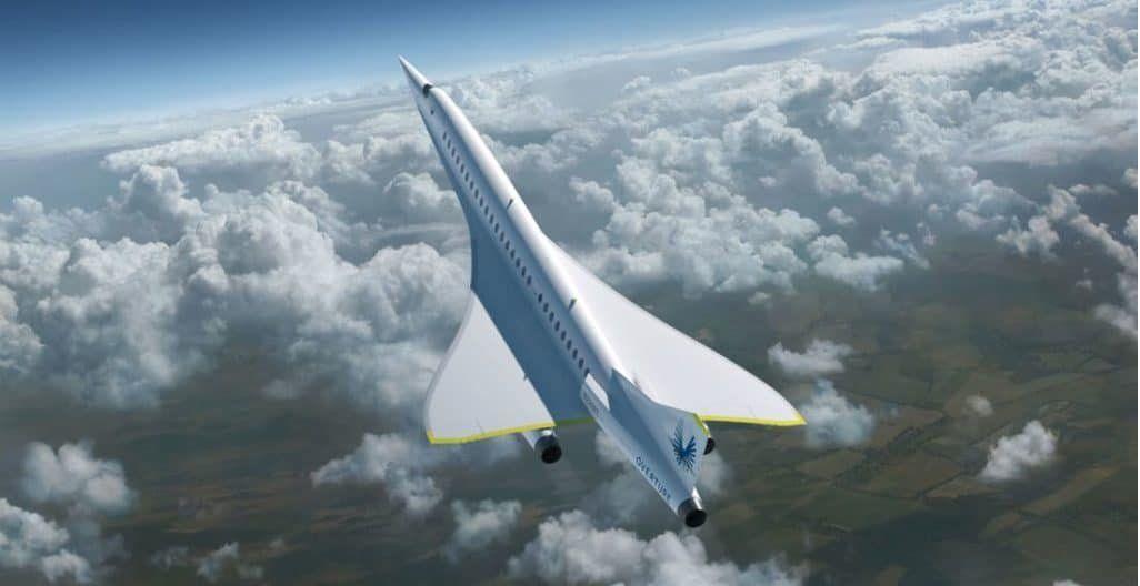 Una compañía propone vuelos rápidos a todo el mundo a bajo costo