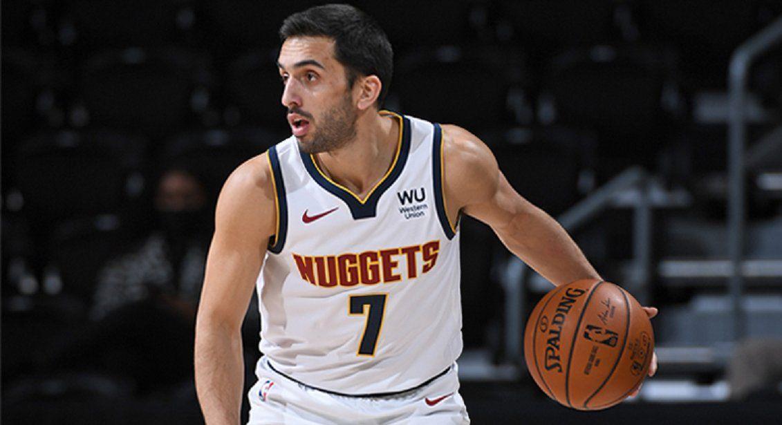 Campazzo fue titular por segunda vez en la NBA.