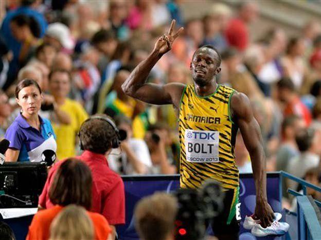 Usain Bolt clasificó caminando a la semifinal del Mundial de atletismo