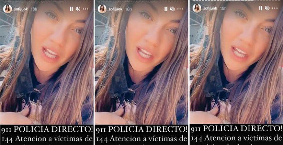 Sofía Jujuy Jiménez contó cómo accionó el botón antipánico por un acosador