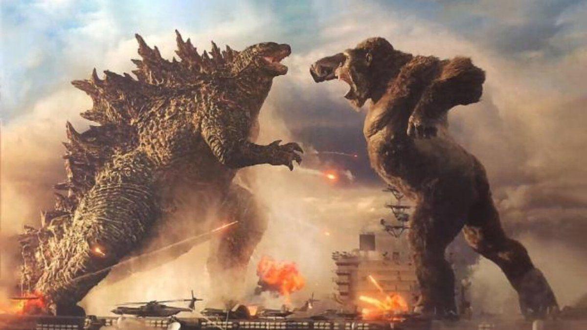 Godzilla vs. Kong, la más taquillera de la pandemia