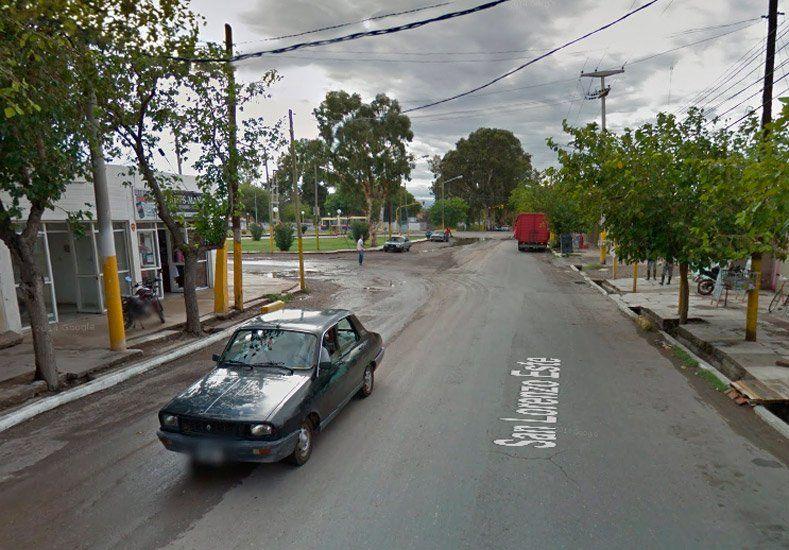 La policía frustró un robo en una tienda de ropa en Santa Lucía