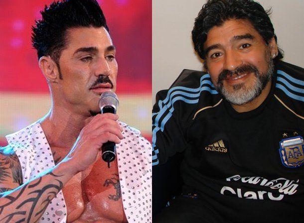 La noticia del verano: Maradona fue a cenar a la casa de Ricardo Fort