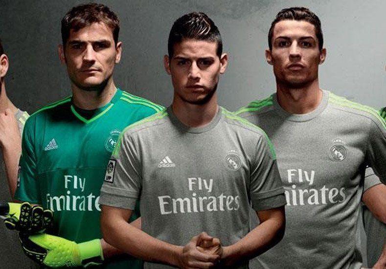 Nueva camiseta: mirá los extraños números de los jugadores del Real Madrid