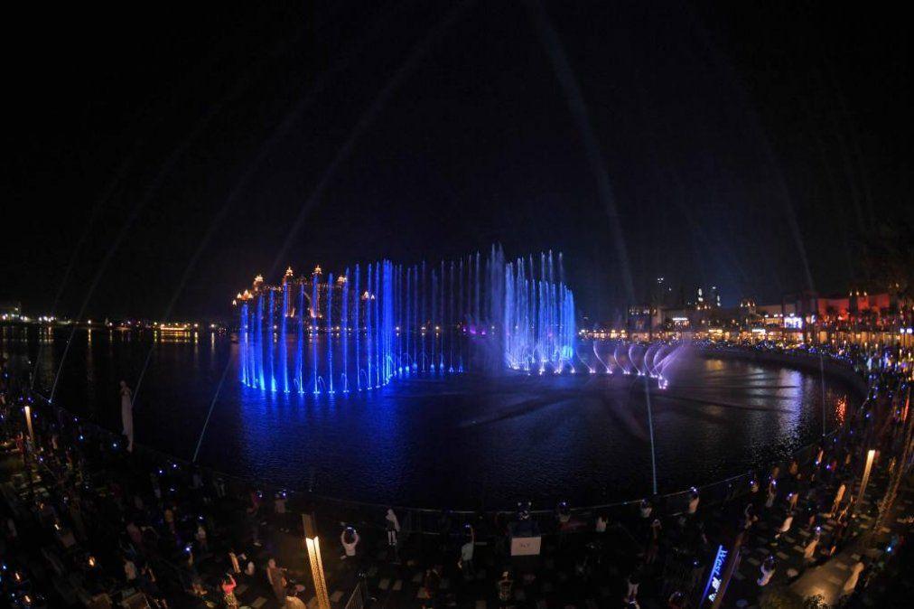 Dubái tiene la fuente más grande del mundo