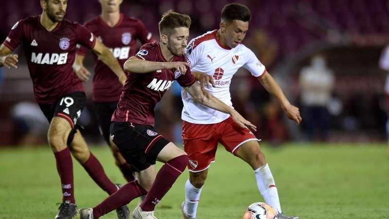 Copa Sudamericana: Lanús e Independiente no se sacaron diferencias.