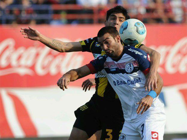 San Lorenzo derrotó a Olimpo con un doblete de Martín Cauteruccio