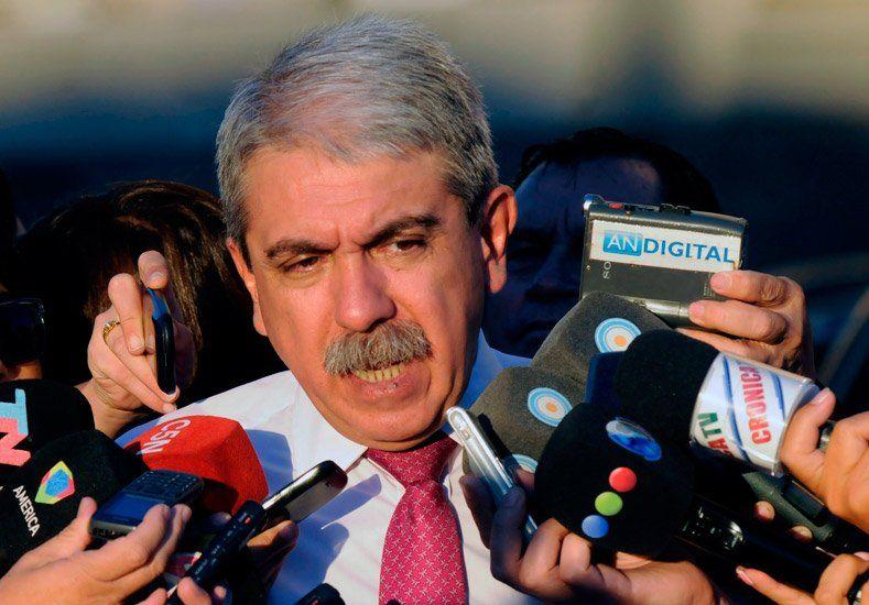 Aníbal Fernández aseguró que el Gobierno no pedirá intervenir Torneos y Competencias