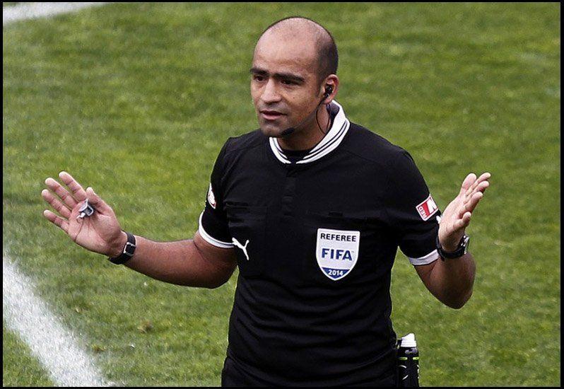 Designaron un árbitro chileno para el partido de Argentina en San Juan