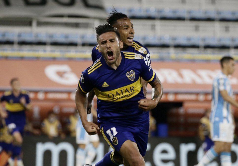Boca derrotó a Racing y es semifinalista de la Libertadores