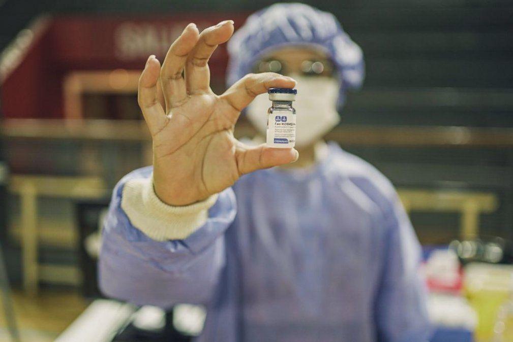 La histórica vacunación contra el COVID-19, en imágenes