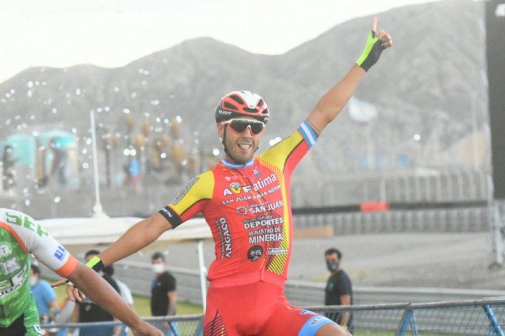 Nicolás Tivani se quedó con el Giro del Sol