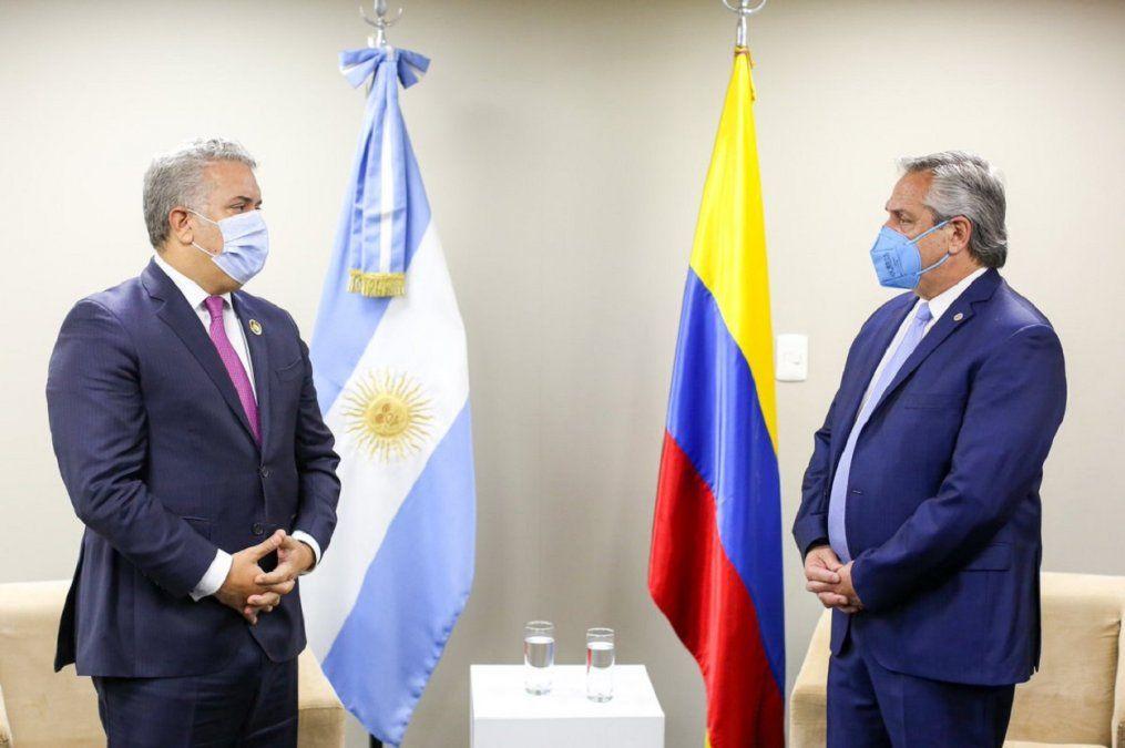 Colombia rechazó las declaraciones de Alberto Fernández