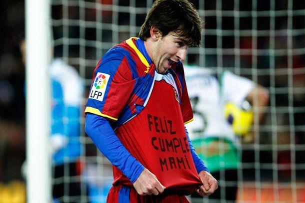 De la mano de Messi, el Barça goleó y estiró la ventaja