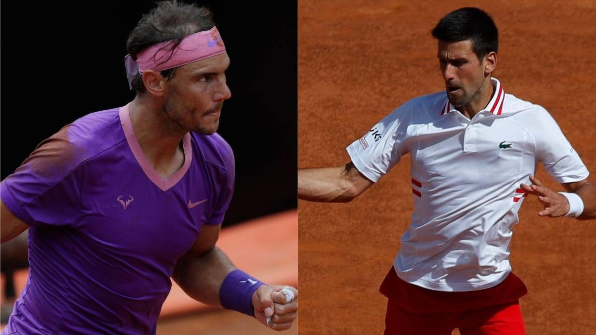 Partidazo: Djokovic y Nadal definen el Masters 1000 de Roma