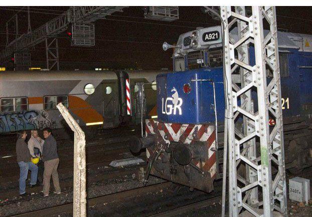 Detuvieron al maquinista y a su ayudante por el choque de trenes en Temperley