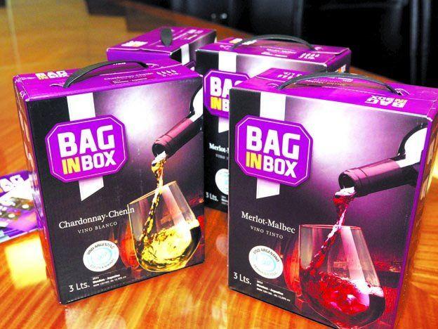 La damajuana ya fue, lo nuevo es bag in box