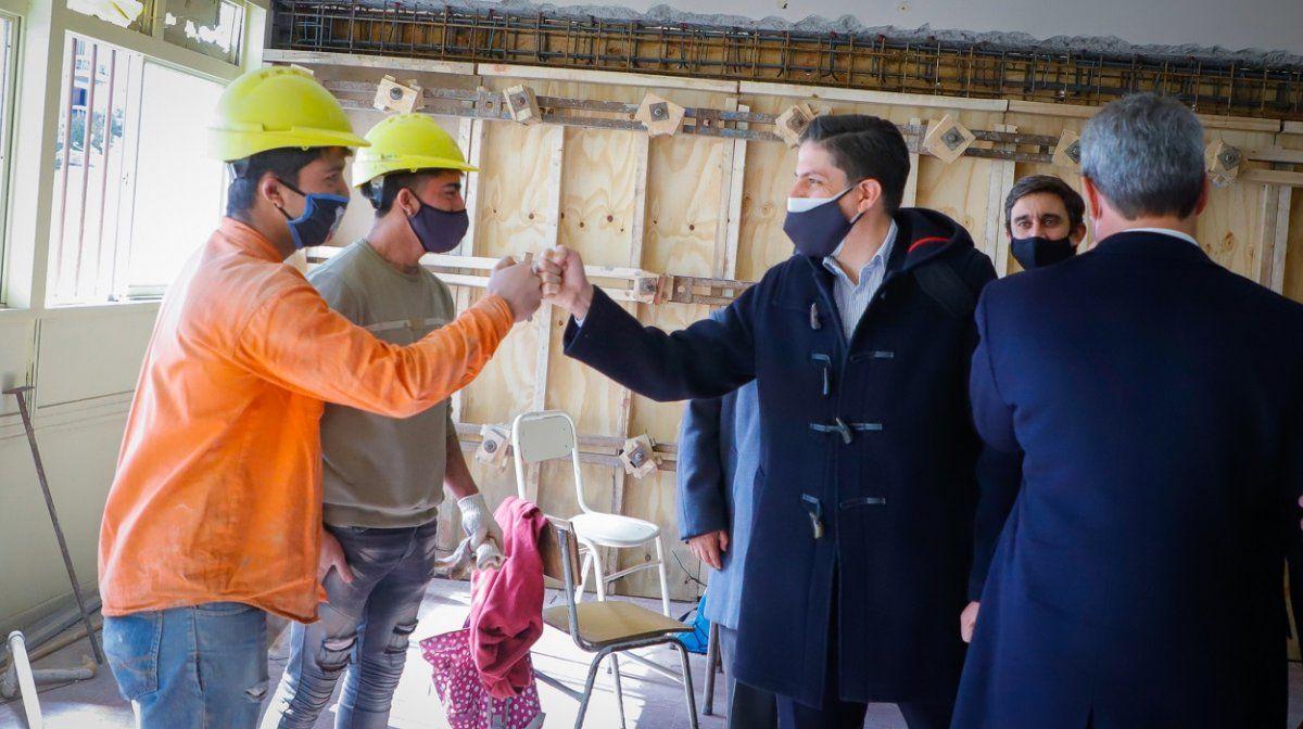 Destinarán $1.500 millones para reparar 37 escuelas afectadas por el terremoto