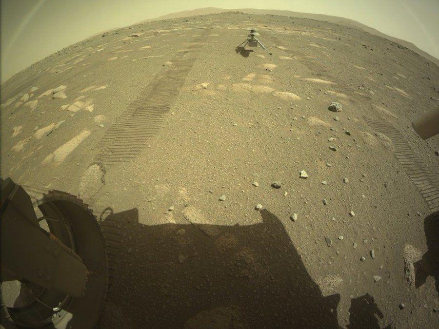 Por un alerta, NASA retrasó el primer vuelo del Ingenuity en Marte