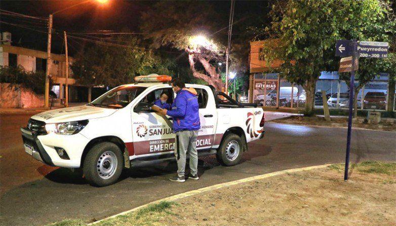 La Provincia lanzó el operativo rescate para personas en situación de calle