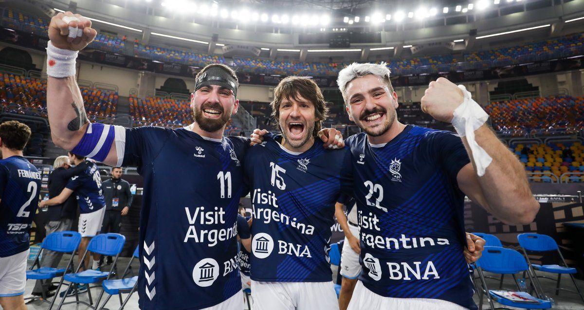 Los Gladiadores ganaron un partido clave para soñar con los cuartos de final del Mundial.