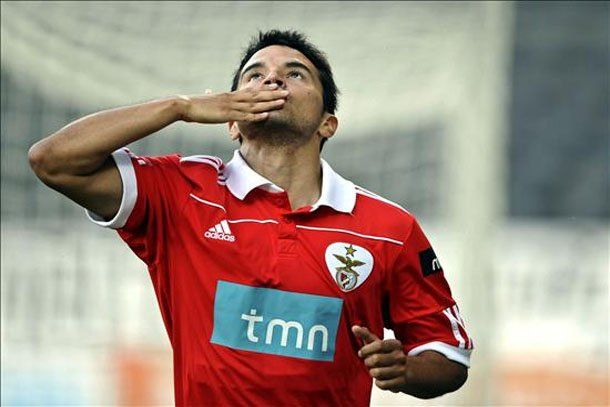 Javier Saviola, el mejor jugador del fútbol portugués