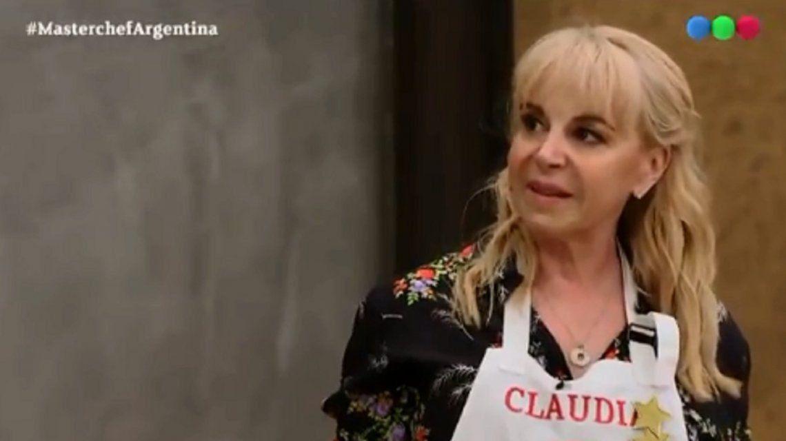 Claudia Villafañe se enojó con Santiago del Moro
