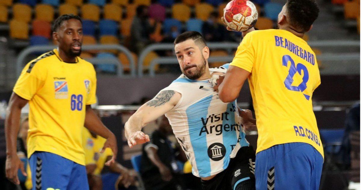 Los Gladiadores vencieron a Congo en su estreno en el Mundial de handball.
