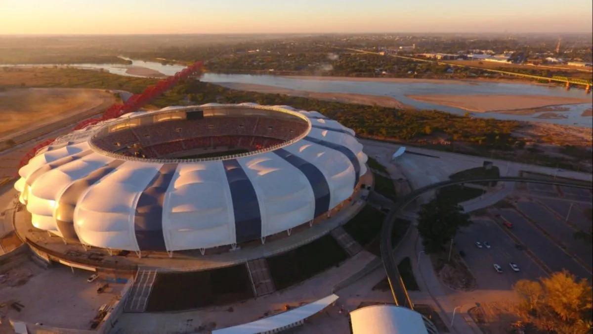 Estadio Madre de Ciudades de Santiago del Estero.