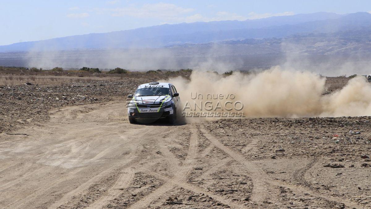 Primera fecha del Rally Sanjuanino en Angaco.
