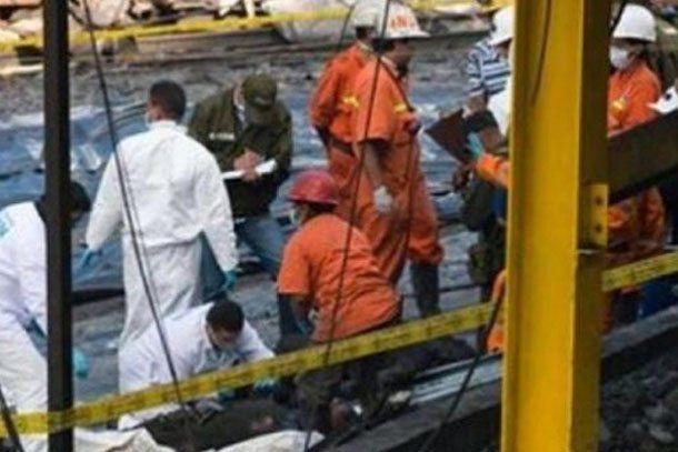 Colombia: al menos 30 mineros atrapados por una explosión