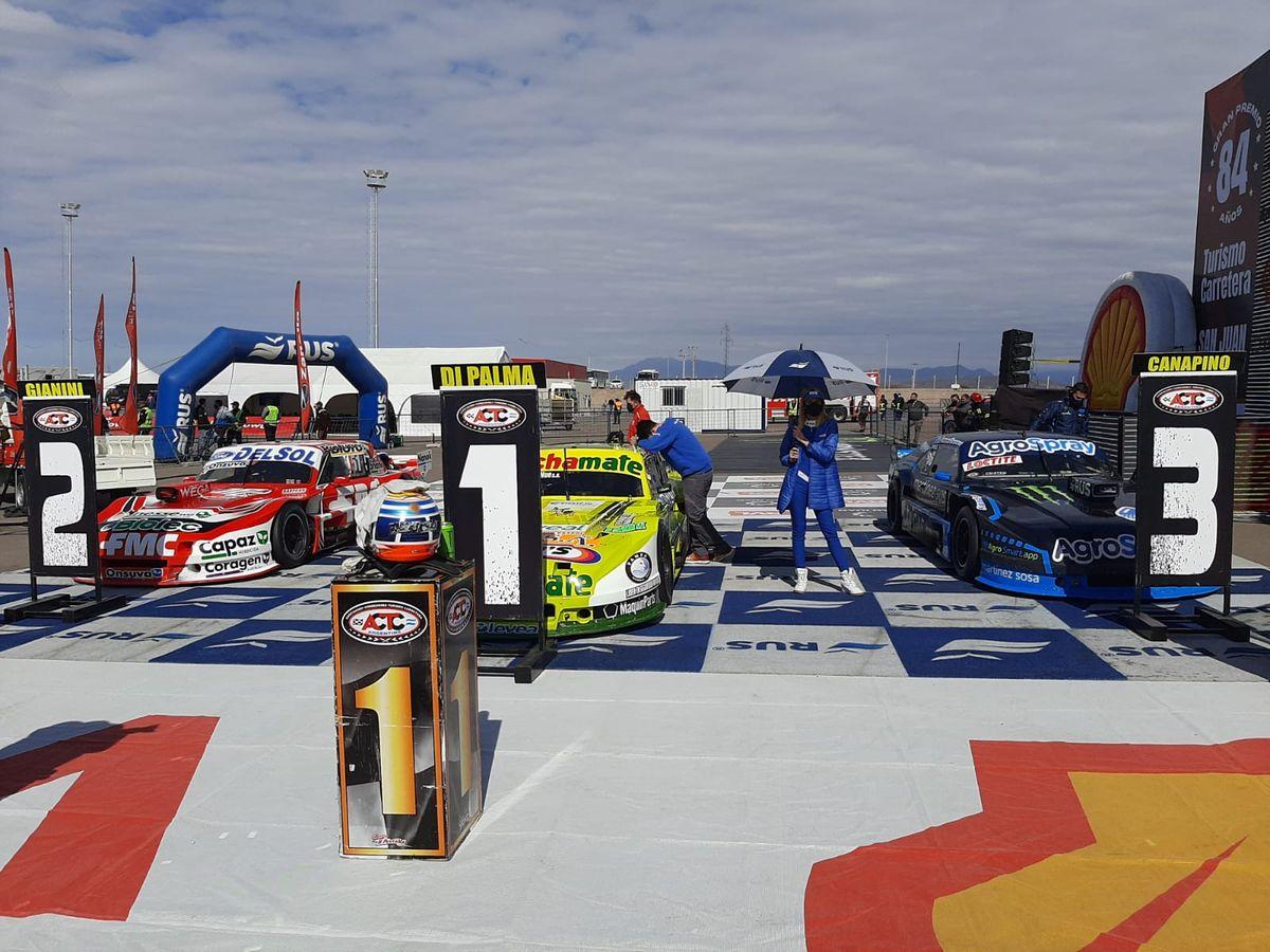 Josito Di Palma fue el ganador en el autódromo El Villicum