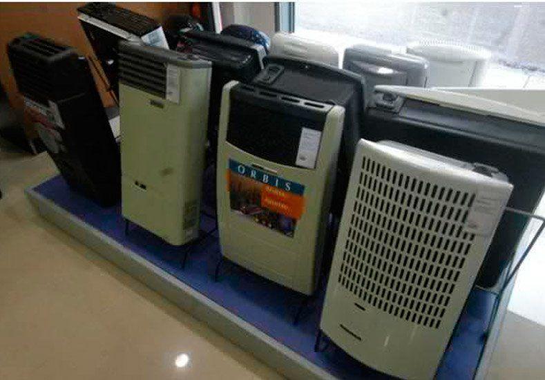 A pesar de que el invierno aún no llega, la venta de calefactores aumentó un 40%