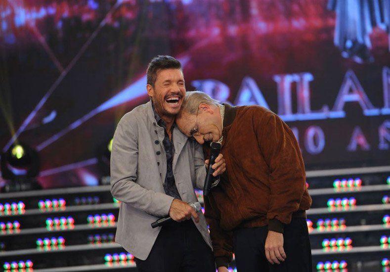 Y un día... Fernando De La Rúa volvió a encontrarse con Marcelo Tinelli en Showmatch