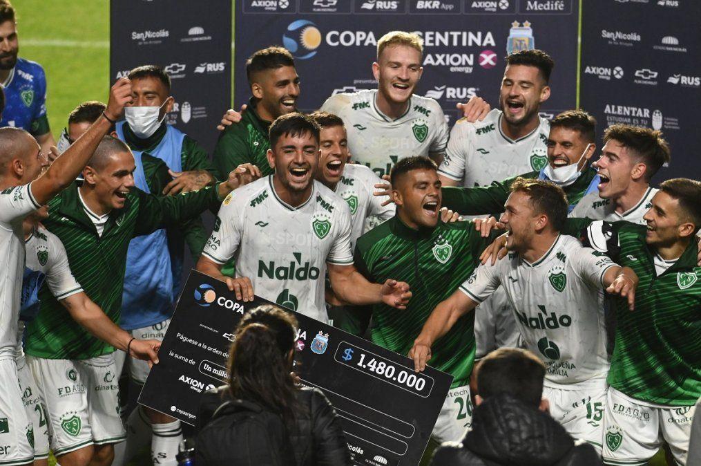 Sarmiento de Junín derrotó 1 a 0 a Newell´s.