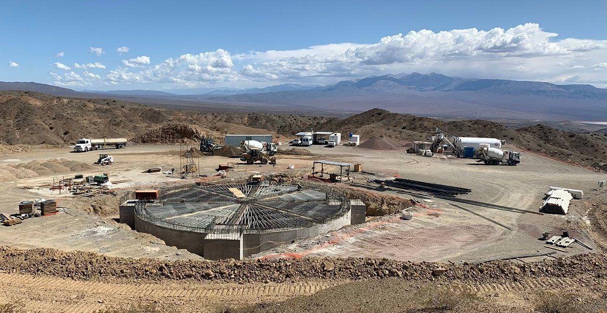 Llegaron de China las piezas de la base del Radiotelescopio de Calingasta