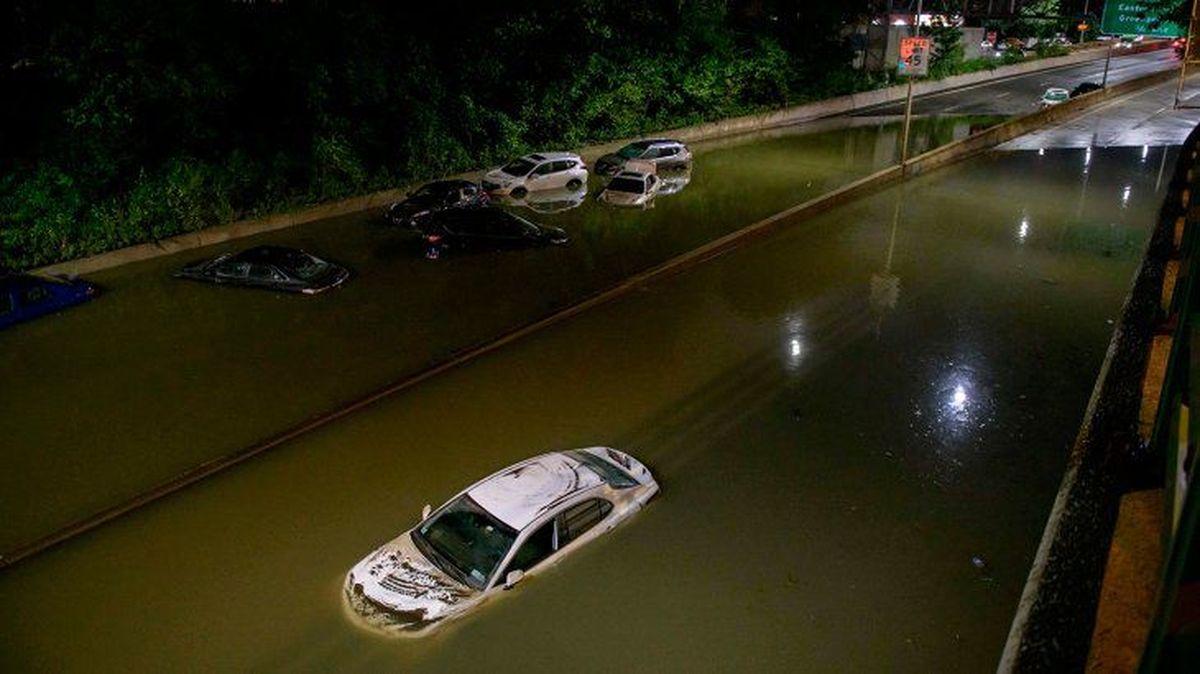 Nueva York: las lluvias provocaron al menos ocho muertos