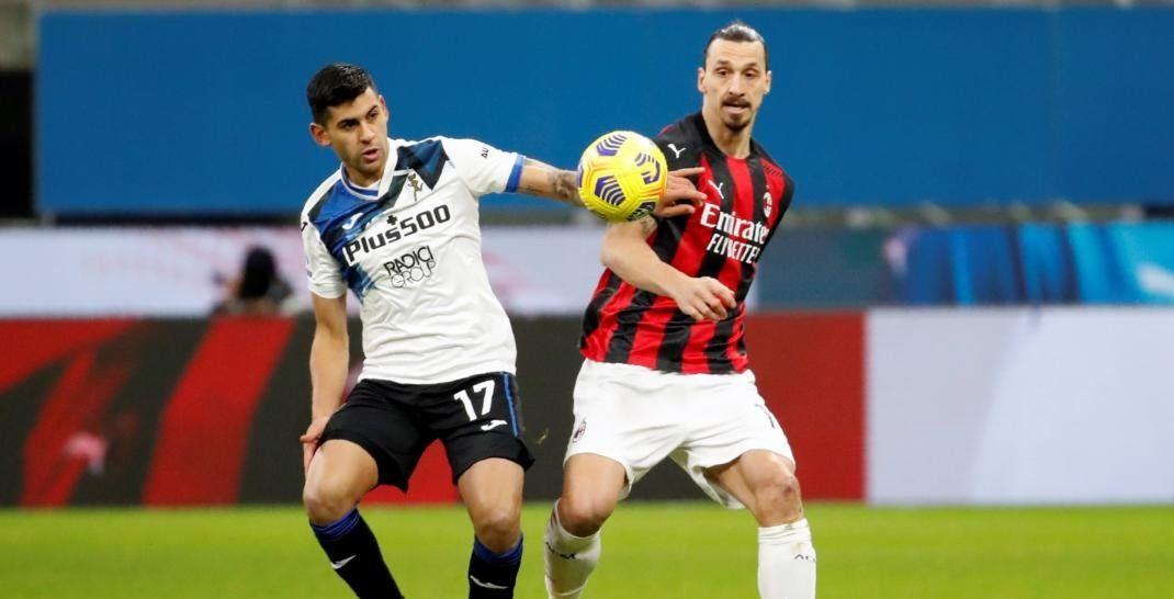 Cristian Romero abrió el marcador en el triunfo ante Milan.