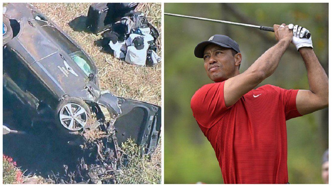 Tiger Woods conducía al doble de la velocidad permitida