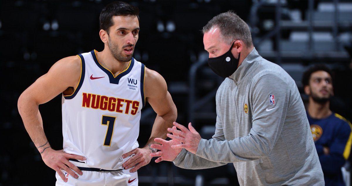 El Denver Nuggets, de Campazzo, venció a Memphis en la NBA